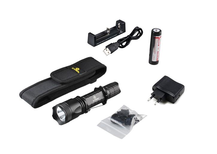 XTAR TZ20 XM-L2 U2 840 lumeni Set Complet - lanterna tactica