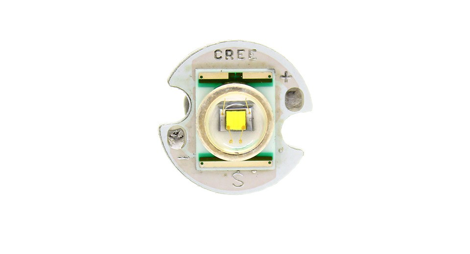LED CREE Q5 250 lumeni - 14mm