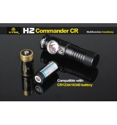 Frontala XTAR H1 LED CREE XP-G2 R5 330 lumeni 1X14500