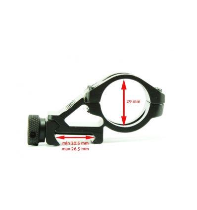 Suport lanterna pentru sina (29 mm diametru lanterna)