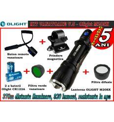 Set lanternă vânătoare Olight M20SX V5 Baterii