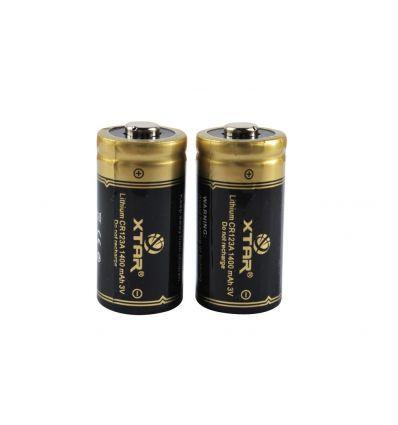 Baterie CR123A 1400mAh XTAR