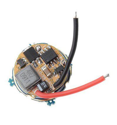 Circuit Regulator Curent pentru Lanterna 2.8A, 3-8.4V, 3-5 moduri