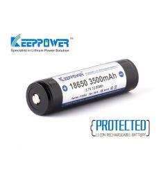 Keeppower 18650 - 3500mAh Acumulator Li-Ion cu Protectie