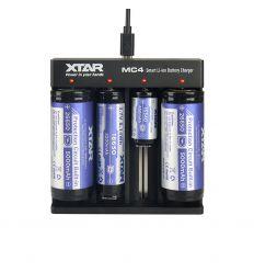 XTAR MC4 Incărcător acumulatori Li-Ion