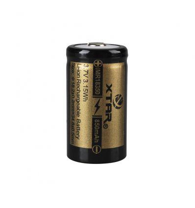 XTAR IMR 18350 850mAh 3.7V Li-Ion