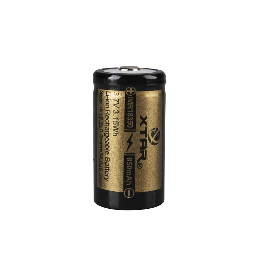 XTAR IMR 18350 850mAh 3.7V Li-Ion - acumulator