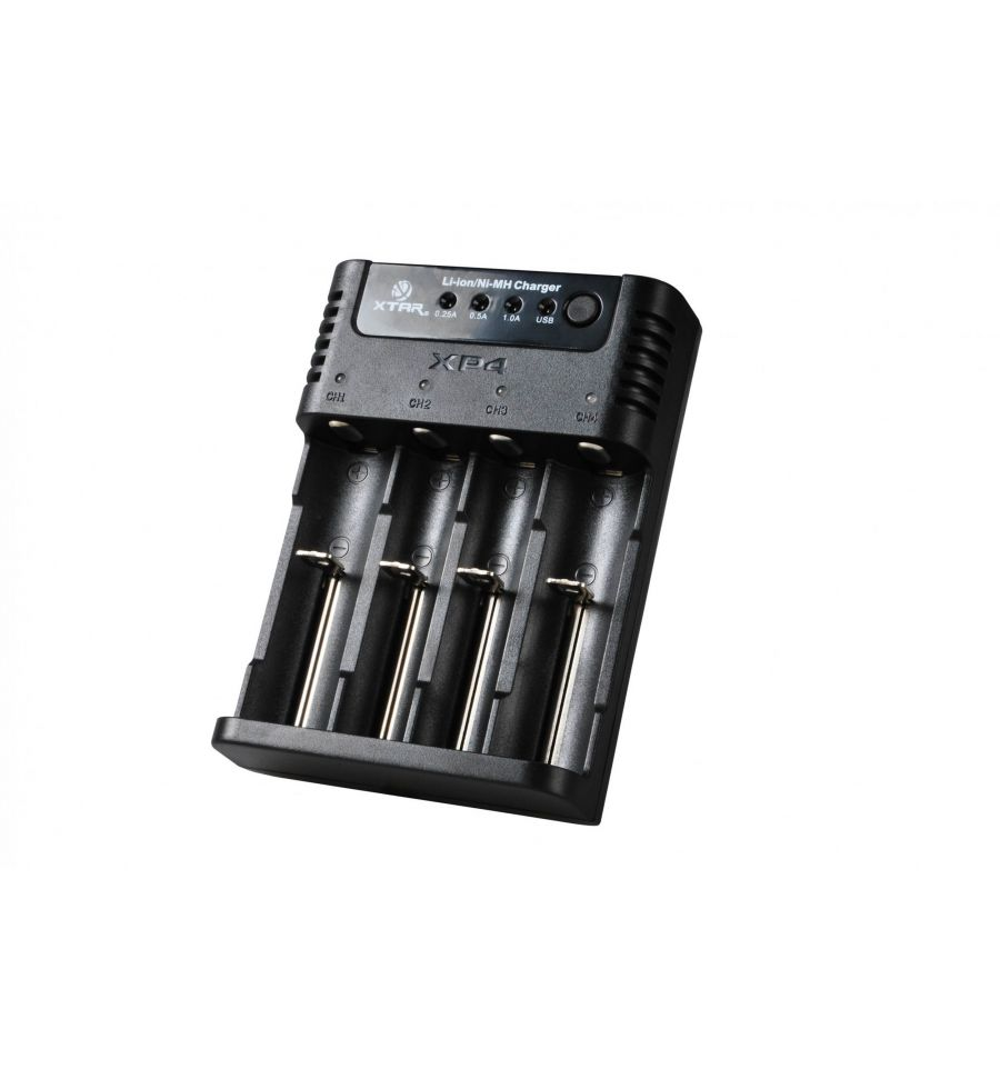 XTAR XP4 Încărcător acumulatori Li-Ion - Ni-Mh | USB Power bank